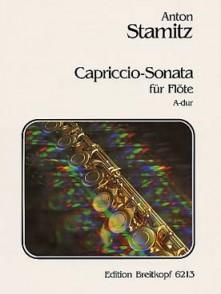 STAMITZ A. CAPRICCIO SONATE EN LA MAJEUR FLUTE