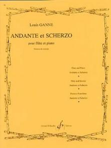 GANNE L. ANDANTE ET SCHERZO FLUTE