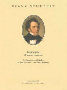 SCHUBERT F. IMPROMPTUS MOMENTS MUSICAUX PIANO