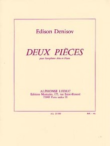 DENISOV E. DEUX PIECES SAXO ALTO