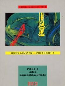 JANSSEN G. VOENOOT 1 FLUTE SOPRANO