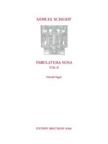 SCHEIDT S. TABULATURA NOVA VOL 2 ORGUE