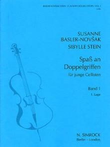 BASLER-NOVSAK S./ STEIN S. SPASS AN DOPPELGRIFFEN VOL 1 VIOLONCELLE