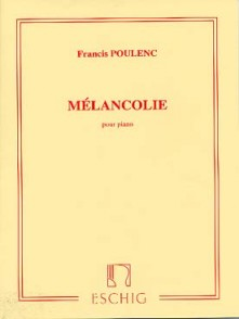 POULENC F. MELANCOLIE PIANO