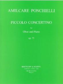 PONCHIELLI A. PICCOLO CONCERTINO OP 78 HAUTBOIS