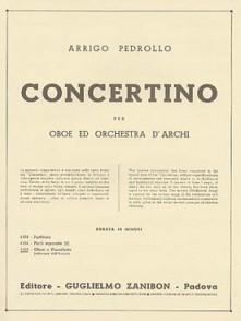 PEDROLLO A. CONCERTINO HAUTBOIS