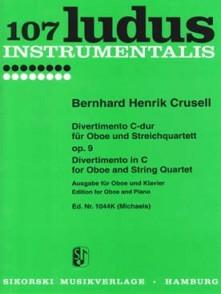 CRUSELL B.H. DIVERTIMENTO OP 9 HAUTBOIS