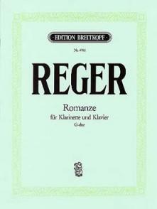 REGER M. ROMANCE CLARINETTE