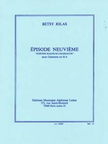 JOLAS B. EPISODE NEUVIEME CLARINETTE