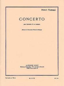 TOMASI H. CONCERTO CLARINETTE