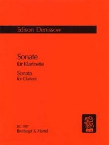DENISOV E. SONATE CLARINETTE SOLO