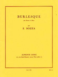 BOZZA E. BURLESQUE BASSON