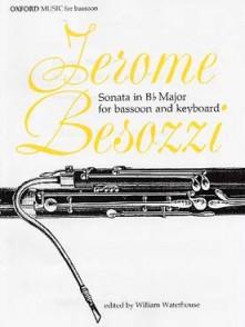 BESOZZI J. SONATE SIB MAJEUR BASSON