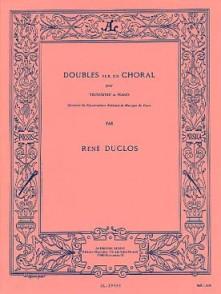 DUCLOS R. DOUBLES SUR UN CHORAL TROMBONE