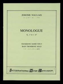 NAULAIS J. MONOLOGUE TROMBONE