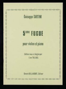 TARTINI G. 5ME FUGUE VIOLON