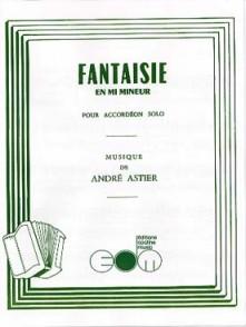 ASTIER A. FANTAISIE MI MINEUR ACCORDEON