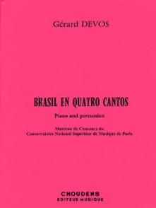 DEVOS G. BRASIL EN QUATRO CANTOS PERCUSSION
