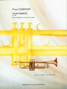 CONSTANT F. DIVERTIMENTO OP 146 TROMPETTE