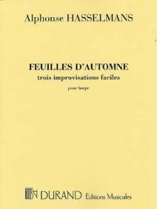 HASSELMANS A. FEUILLES D'AUTOMNE HARPE
