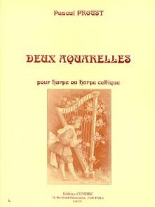 PROUST P. AQUARELLES HARPE