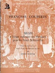 COUPERIN F. MESSE POUR LES PAROISSES