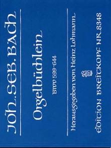 BACH J.S. ORGELBUCHLEIN ORGUE