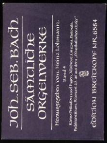 BACH J.S. OEUVRES COMPLETES VOL 4 ORGUE