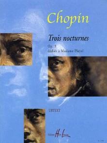 CHOPIN F. NOCTURNES OP 9 PIANO