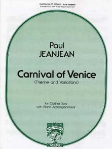 JEANJEAN P. CARNIVAL OF VENICE CLARINETTE