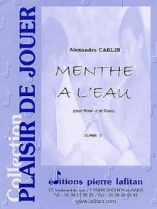 CARLIN A. MENTHE A L'EAU FLUTE