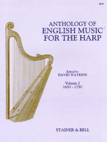ANTHOLOGY OF ENGLISH MUSIC FOR THE HARP VOL 2