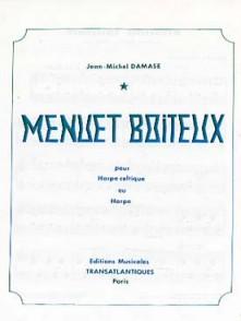 DAMASE J.M. MENUET BOITEUX HARPE