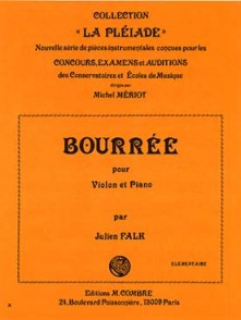 FALK J. BOURREE VIOLON