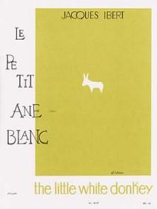 IBERT J. LE PETIT ANE BLANC FLUTE