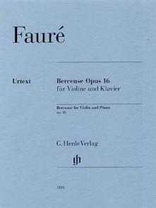 FAURE G.  BERCEUSE OP 16 VIOLON