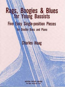 HOAG C. RAGS BOOGIES BLUES FOR YOUNG BASSISTS CONTREBASSE