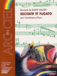 SAINT-VAULRY B. RECITATIF ET FUGATO CONTREBASSE