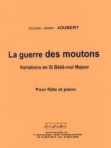 JOUBERT C.H. LA GUERRE DES MOUTONS FLUTE
