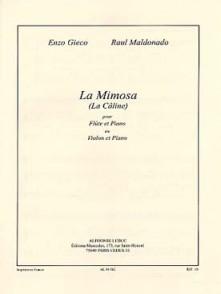 GIECO E. LA MIMOSA FLUTE OU VIOLON