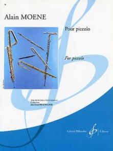 MOENE A. POUR PICCOLO FLUTE PICCOLO
