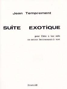 TEMPREMENT J. SUITE EXOTIQUE FLUTE A BEC SOPRANO