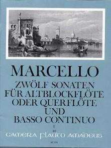 MARCELLO B. SONATEN OP 2 VOL 1 FLUTE A BEC