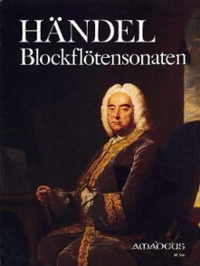 HAENDEL G.F. SONATES FLUTE A BEC