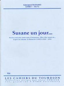 BASSANO G. SUSANE UN JOUR FLUTE A BEC