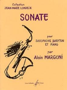 MARGONI A. SONATE SAXO BARYTON