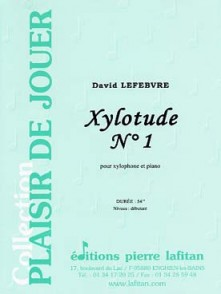 LEFEBVRE D. XYLOTUDE N°1 XYLOPHONE