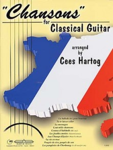 HARTOG C. CHANSONS FOR CLASSICAL GUITAR
