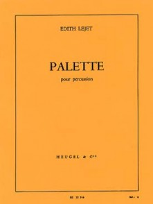 LEJET E. PALETTE PERCUSSION