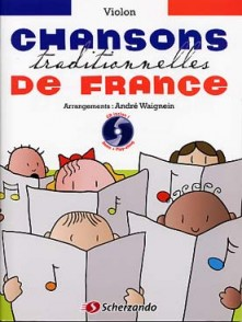 CHANSONS TRADITIONNELLES DE FRANCE VIOLON